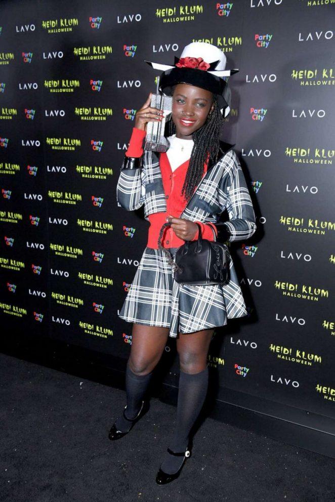 Lupita Nyong'o – Heidi Klum's 19th Annual Halloween Party in NYC