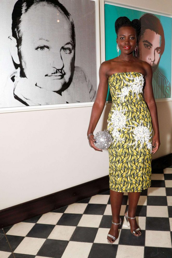 Lupita Nyong'o - 'How to Accessorize' Book Dinner Celebration in New York