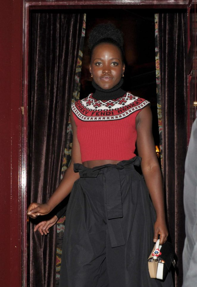 Lupita Nyong'o - Leaving Can't Stop, Won't Stop A Bad Boy Story After Party in London