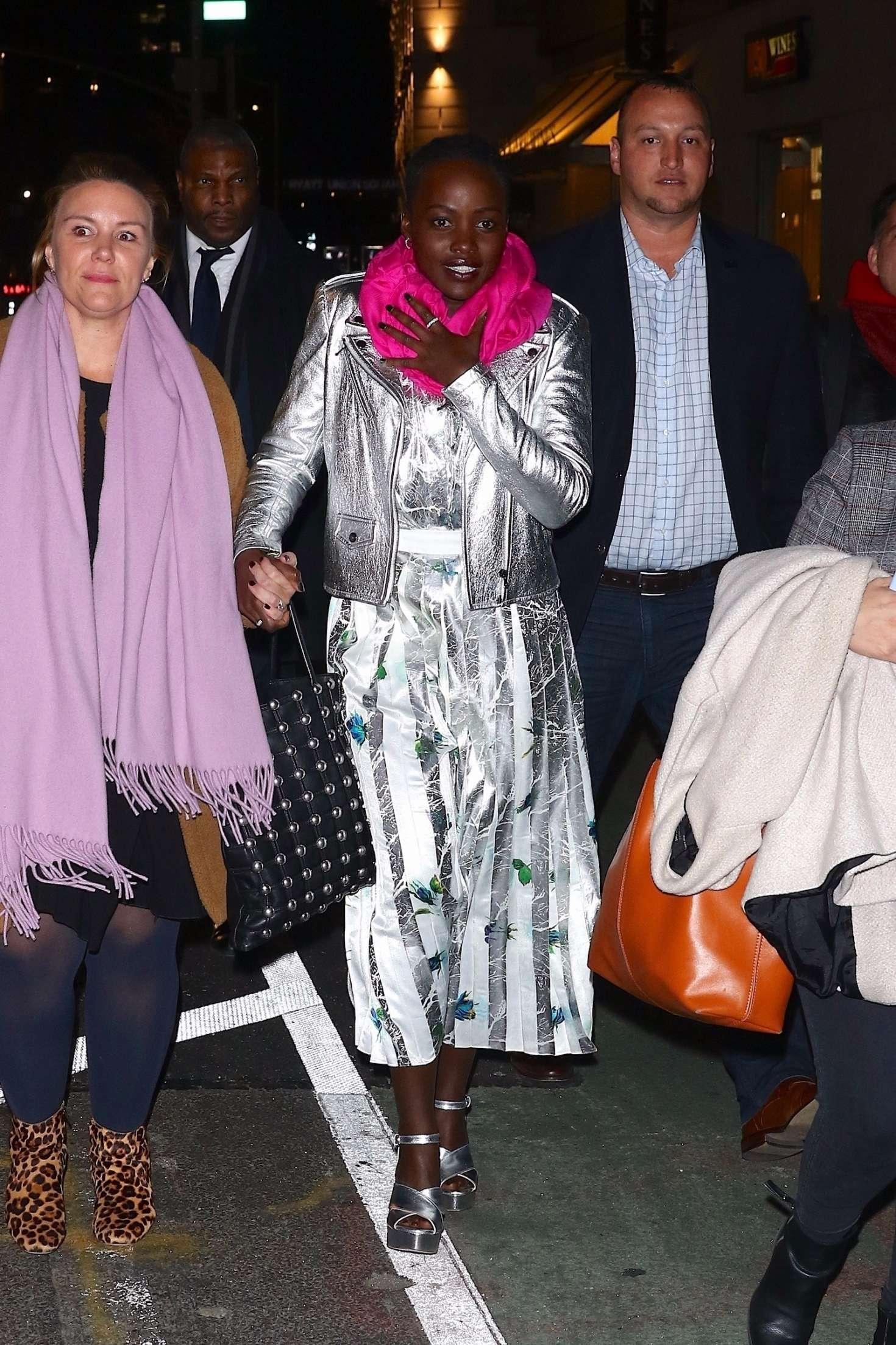 Lupita Nyong'o – Night out in New York