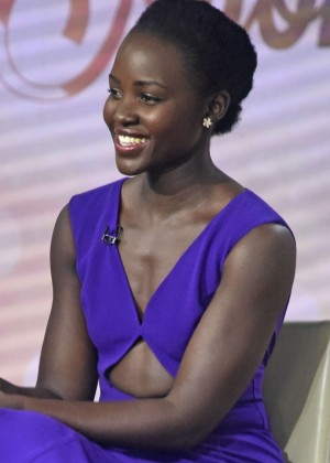 Lupita Nyong'o on the Today Show in New York