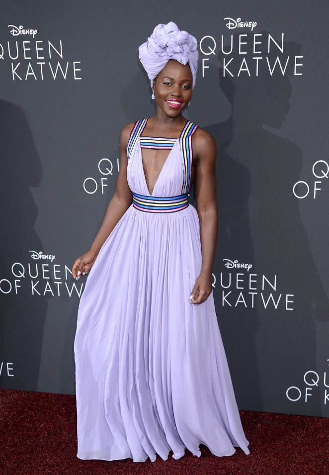 Lupita Nyong'o - 'Queen of Katwe' Premiere in Los Angeles