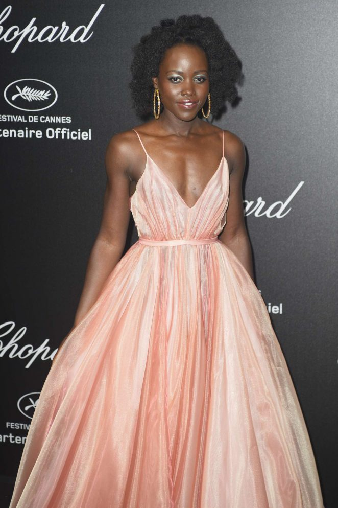 Lupita Nyong'o - Secret Chopard Party at 208 Cannes Film Festival