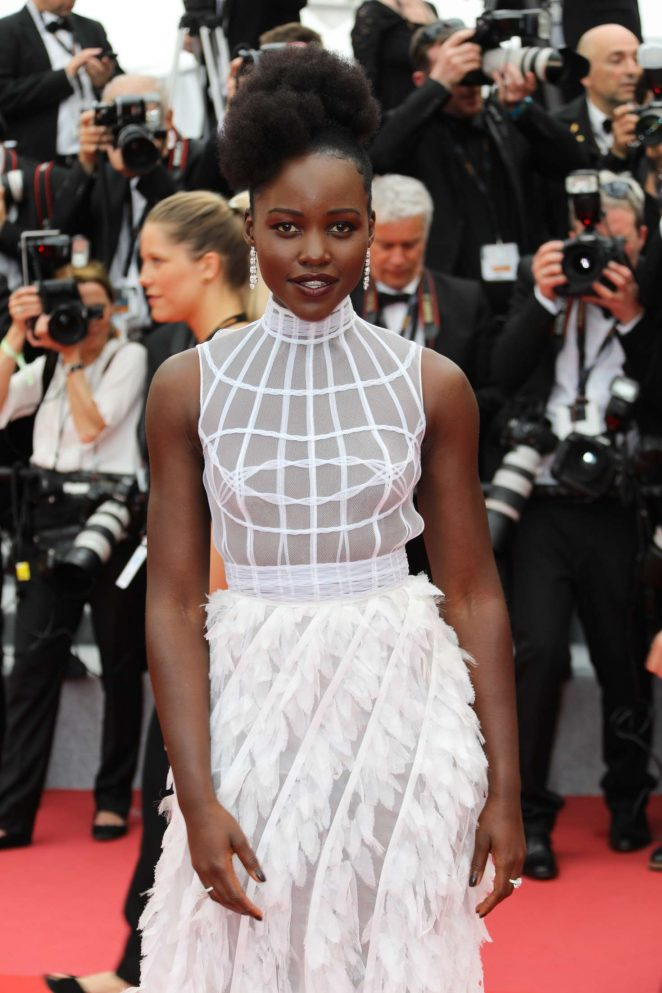 Lupita Nyong'o - 'Sorry Angel' Premiere at 2018 Cannes Film Festival