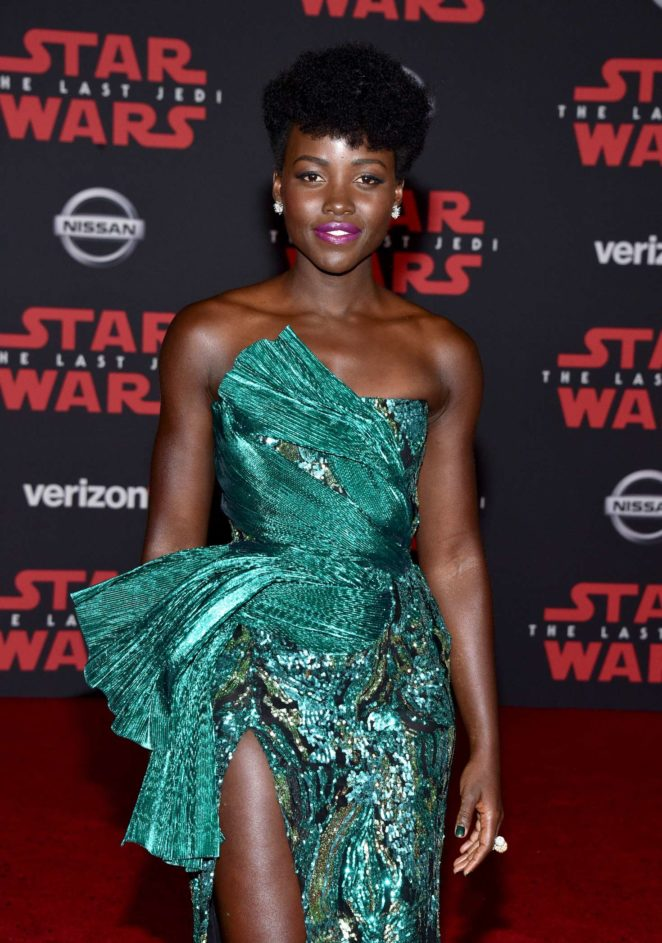 Lupita Nyong'o - 'Star Wars: The Last Jedi' Premiere in Los Angeles