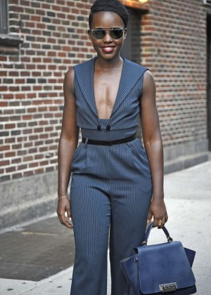 Lupita Nyong'o - The 'Late Show with Stephen Colbert' in NYC