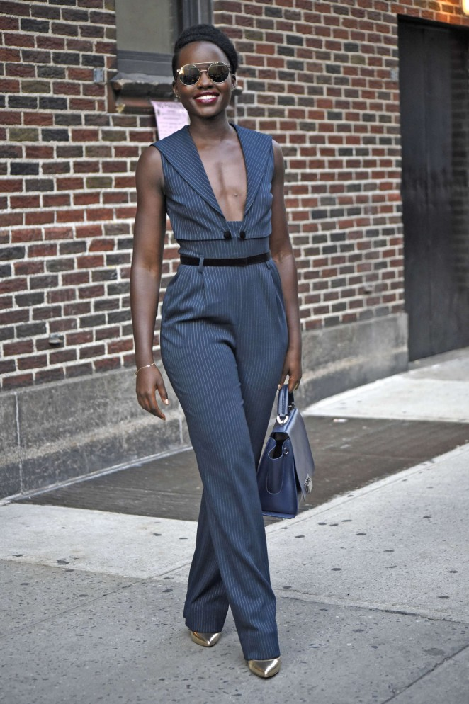Lupita Nyongo: The Late Show with Stephen Colbert -05