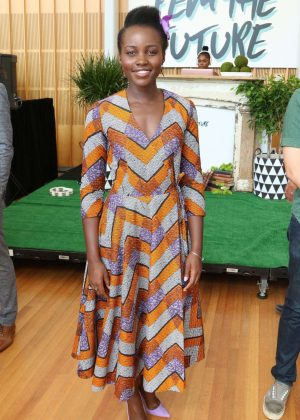 Lupita Nyong'o - The Pre-VMA Fem The Future Brunch in NYC