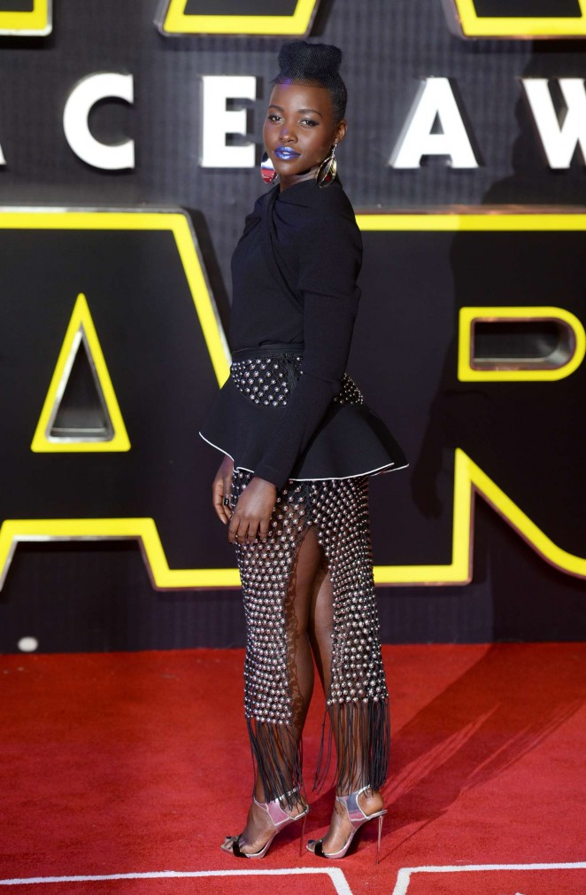 Lupita Nyongo: Star Wars The Force Awakens UK Premiere -10