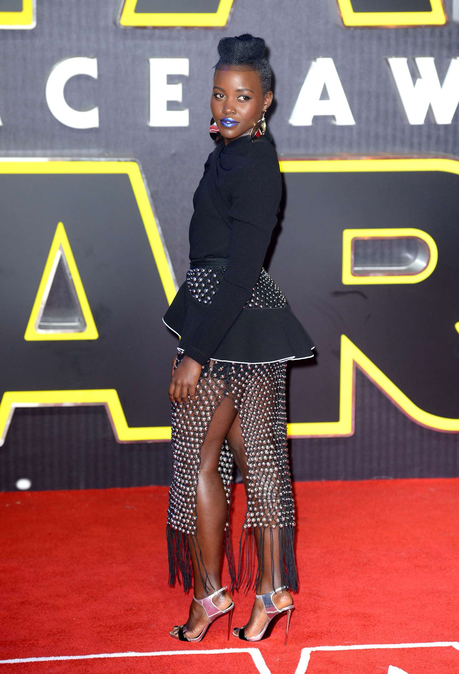 Lupita Nyongo: Star Wars The Force Awakens UK Premiere -12