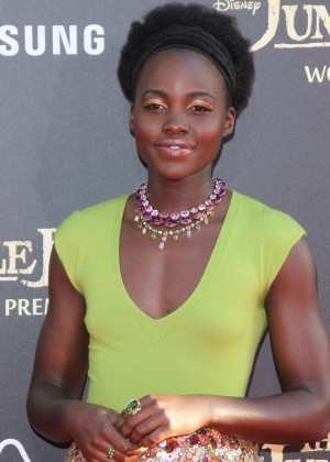 Lupita Nyongo - 'The Jungle Book' Premiere in Hollywood