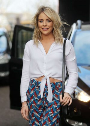 Lydia Bright at ITV Studios in London
