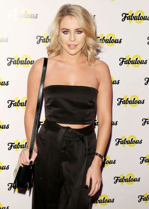Lydia Bright - Fabulous Magazine 10th Birthday Party in London