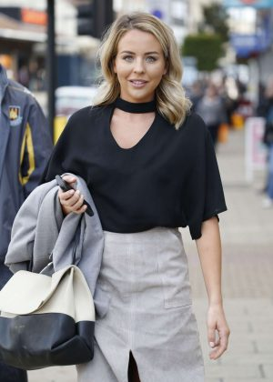 Lydia Bright - Heading To Luna Club in Essex