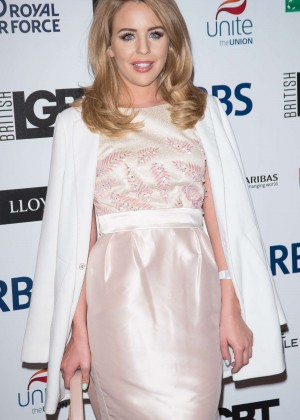 Lydia Bright - LGBT Awards 2015 in London