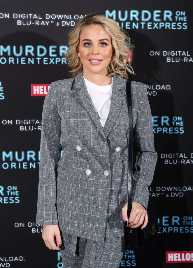 Lydia Bright – 'Murder On The Orient Express' Celebrate the Blu-ray and DVD release in London