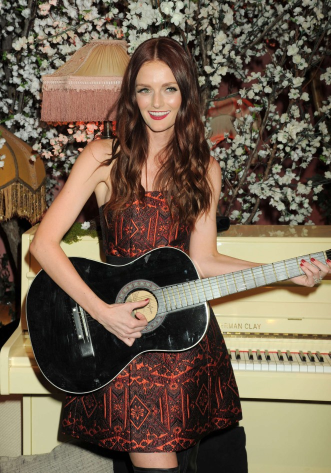 Lydia Hearst - Alice + Olivia Fashion Show 2016 in Los Angeles