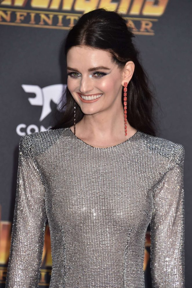 Lydia Hearst – 'Avengers: Infinity War' Premiere in Los Angeles