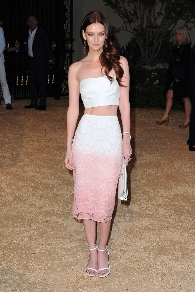 Lydia Hearst - Burberry 'London in Los Angeles' Event in LA