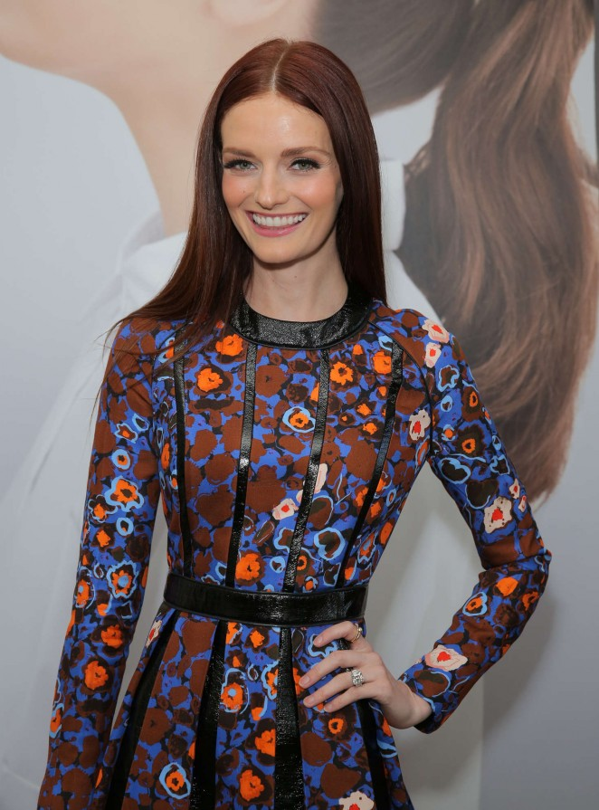 Lydia Hearst - harper x Harper's BAZAAR May Issue Event in West Hollywood