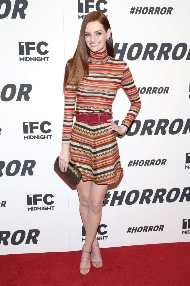 Lydia Hearst - '#Horror' Premiere in New York