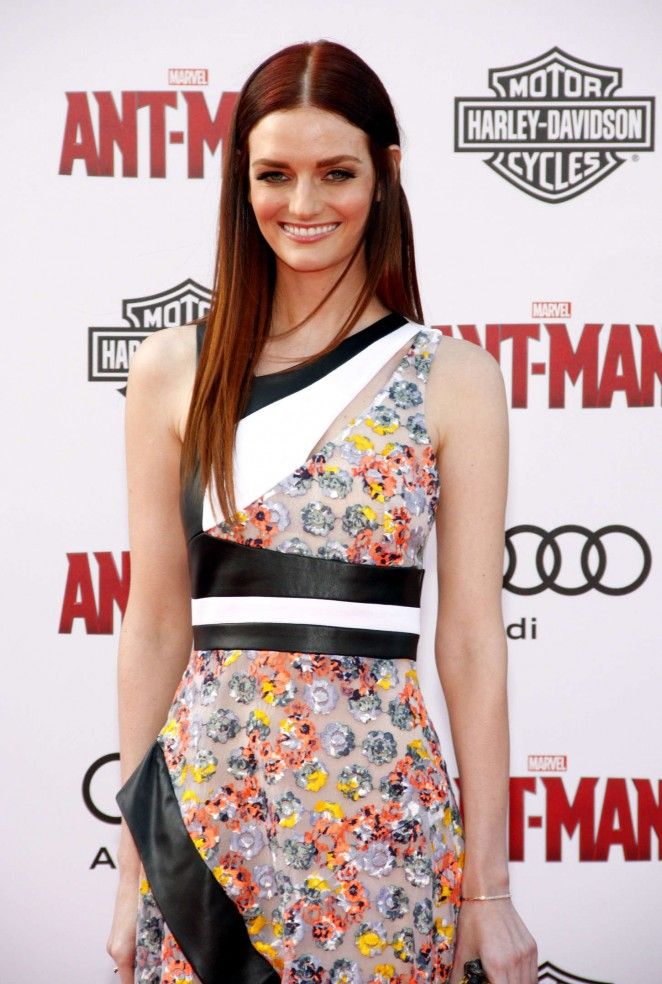 Lydia Hearst - Marvel's 'Ant-Man' Premiere in Hollywood
