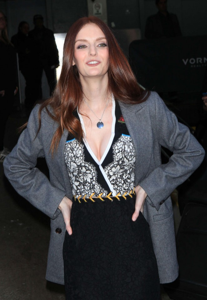 Lydia Hearst out and about in New York City