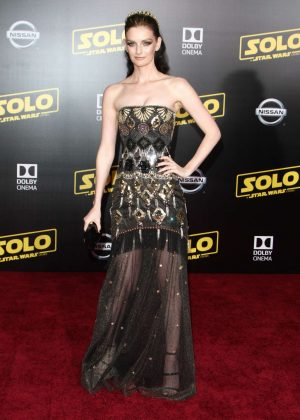 Lydia Hearst - 'Solo: A Star Wars Story' Premiere in Los Angeles