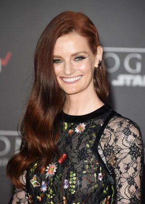 Lydia Hearst - 'Star Wars Rouge One' Premiere in Hollywood