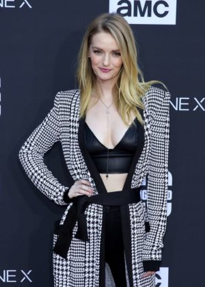 Lydia Hearst - 'The Walking Dead' 100th Episode Premiere and Party in LA