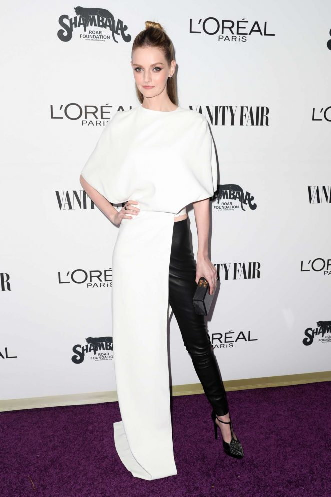 Lydia Hearst: Vanity Fair and LOreal Paris Toast to Young Hollywood -05
