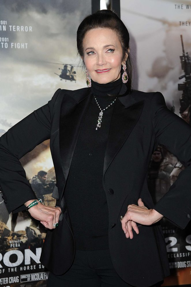 Lynda Carter - '12 Strong' Premiere in New York