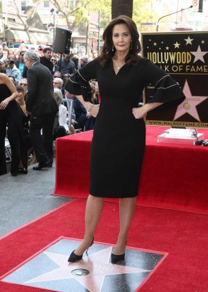 Lynda Carter honored with star on the Hollywood Walk of Fame in Hollywood