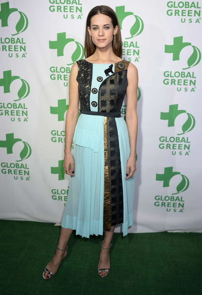 Lyndsy Fonseca – 14th Annual Global Green Pre-Oscar Party in Los Angeles