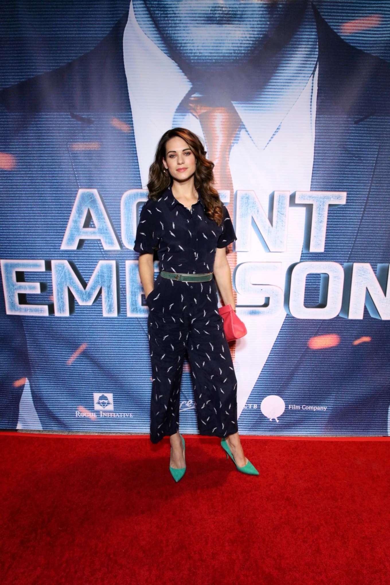 Lyndsy Fonseca - Agent Emerson Premiere in LA-03 | GotCeleb
