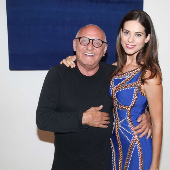 Lyndsy Fonseca - BCBG and Herve Leger Resort 2016 in LA