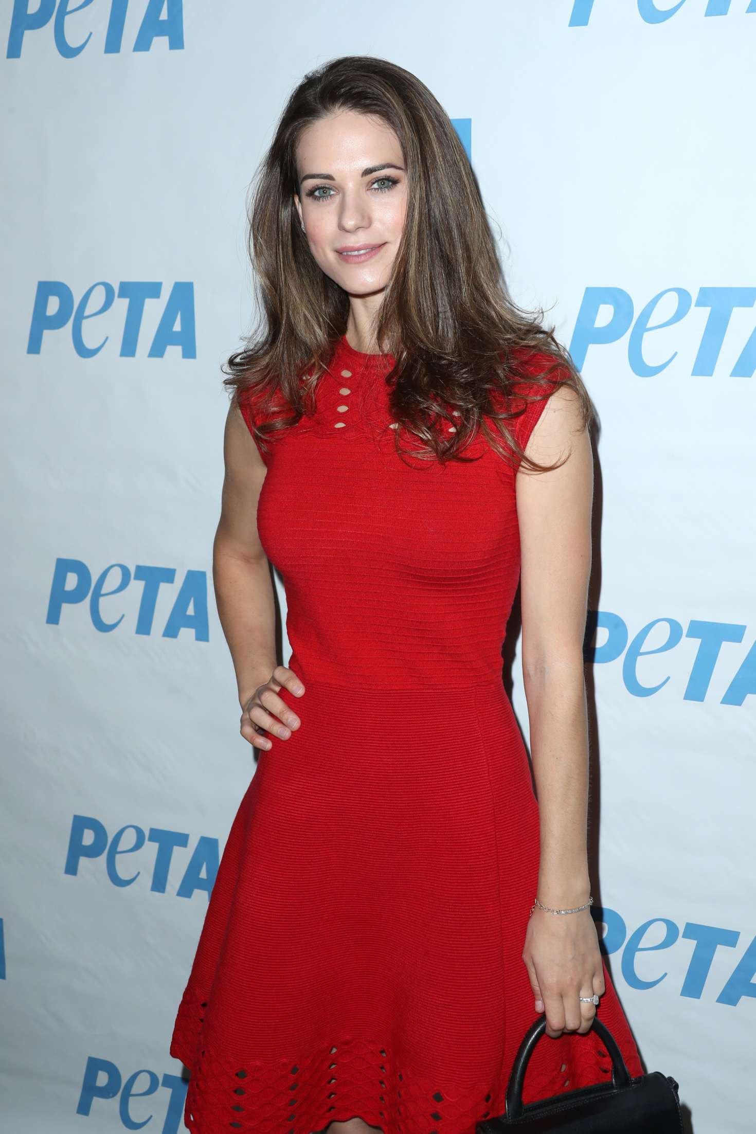 Lyndsy Fonseca  Launch Opening Night Of Petas Naked Ambition Exhibit In La -8897