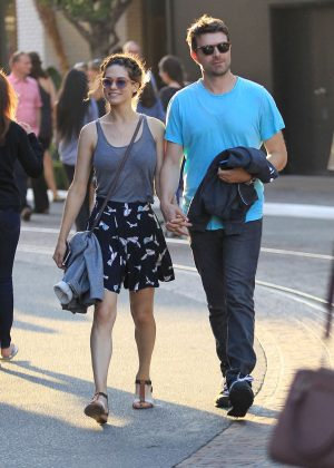 Lyndsy Fonseca - Shopping at The Grove in Hollywood