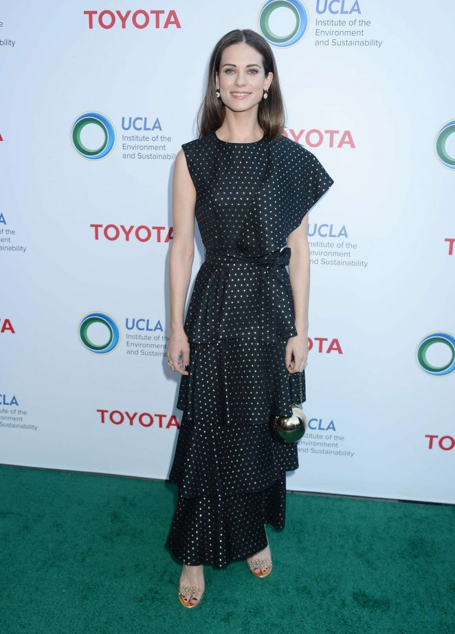 Lyndsy Fonseca – UCLA Institute of the Environment and Sustainability Gala in Los Angeles