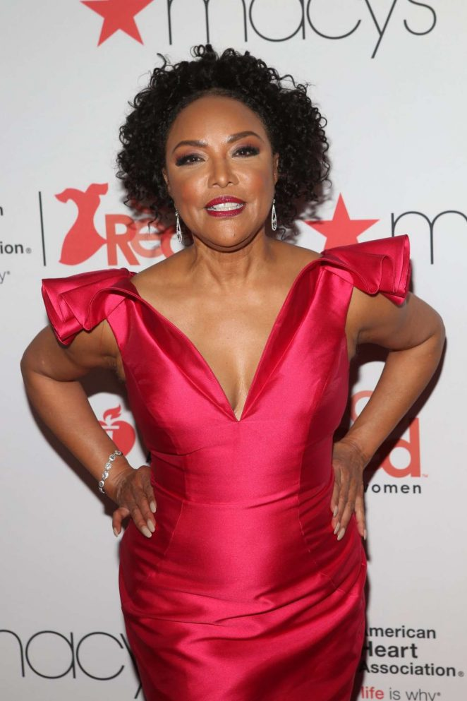 Lynn Whitfield – American Heart Association's Go Red for Women Red Dress Collection 2018 in NY