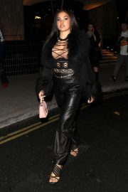 Mabel - Arrives at LFW Love Magazine and Youtube Party in London