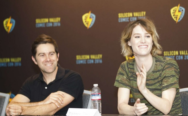 Mackenzie Davis: AMCs Halt And Catch Fire Panel at Comic Con 2016 -01