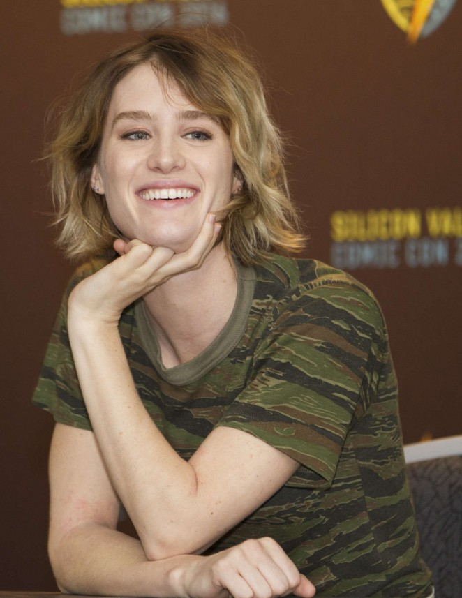 Mackenzie Davis - AMC's 'Halt And Catch Fire' Panel at Comic Con 2016 in San Jose