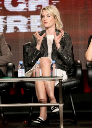 "Mackenzie Davis - ""Halt and Catch Fire"" Panel TCA Press Tour in Pasadena"