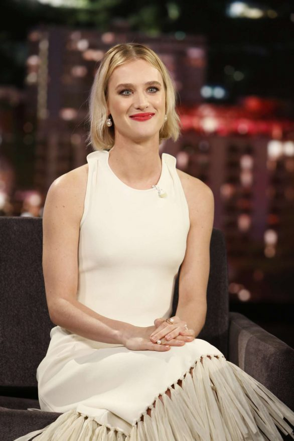 Mackenzie Davis - Visits Jimmy Kimmel Live! in Hollywood