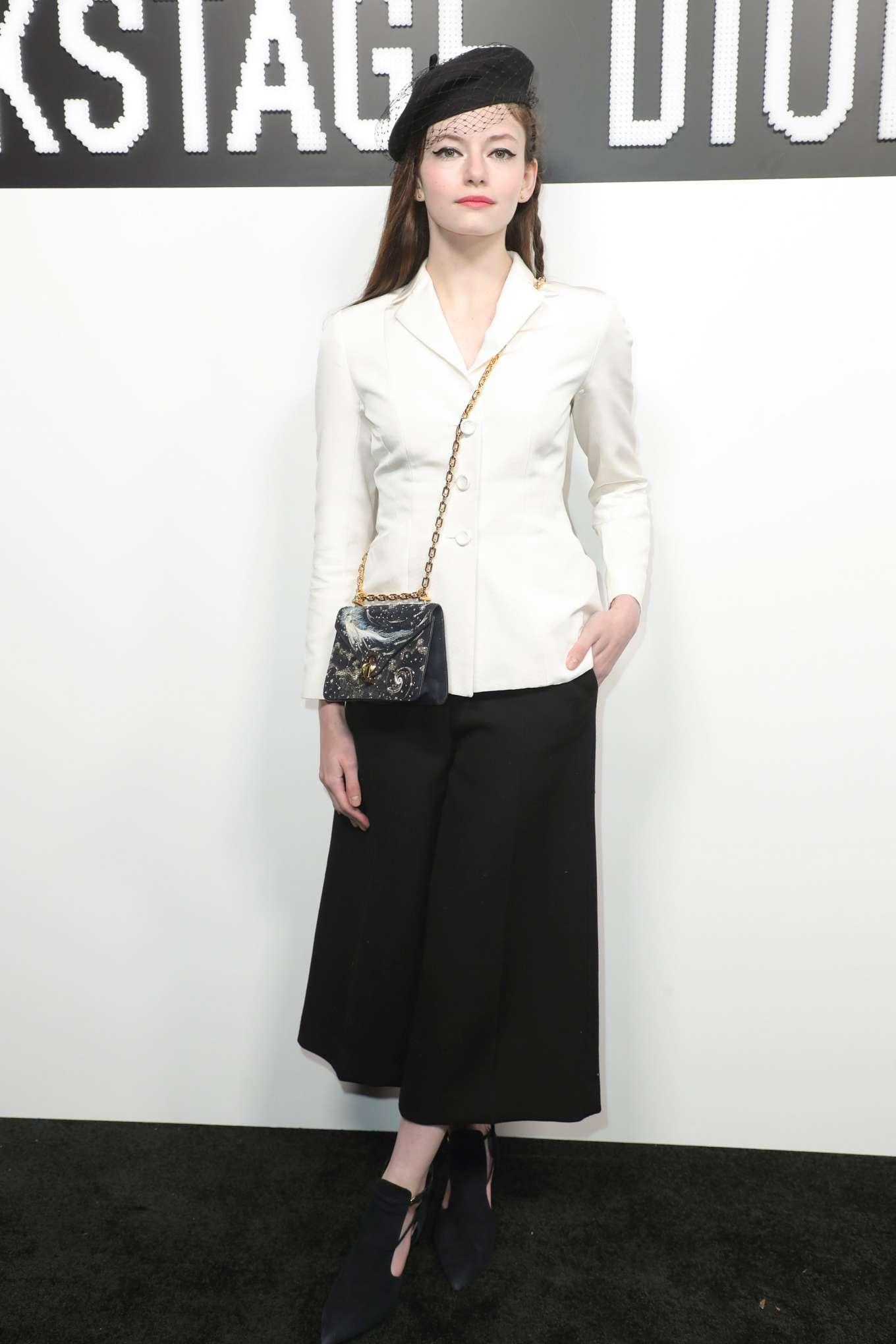 Mackenzie Foy - Dior Beauty Pop Up in Los Angeles