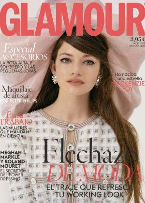 Mackenzie Foy for Glamour Spain Cover (October 2018)