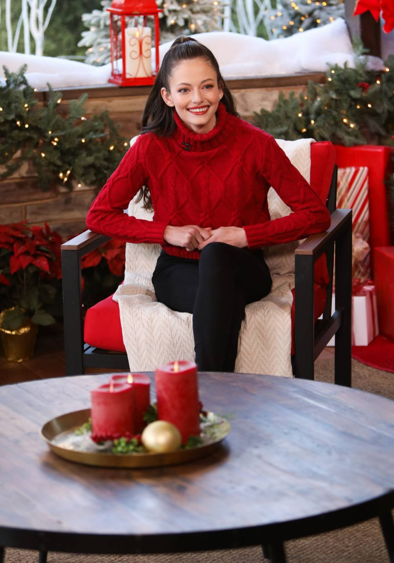 Mackenzie Foy 2020 : Mackenzie Foy – Pictured at Hallmark Channel's Home and Family -06