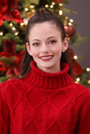 Mackenzie Foy - Pictured at Hallmark Channel's Home and Family