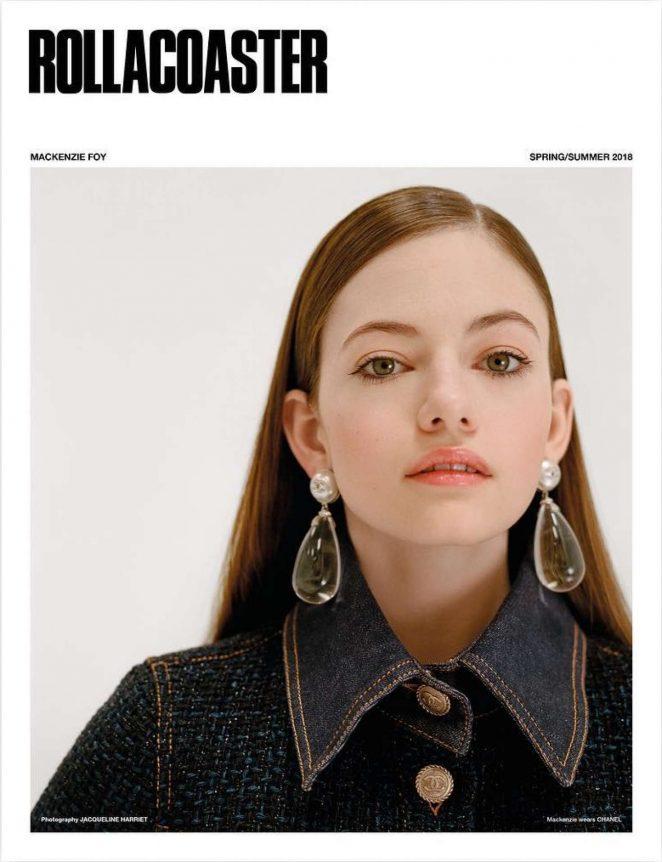 Mackenzie Foy - Rollacoaster Magazine (Spring/Summer 2018)